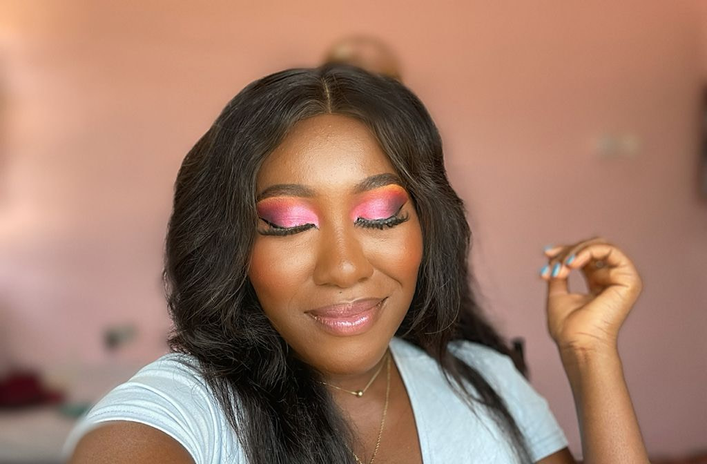FLIRTY PINK EYESHADOW TUTORIAL WITH A SIDE OF HISTORICAL GIST- JOE AND PEGGY APPIAH