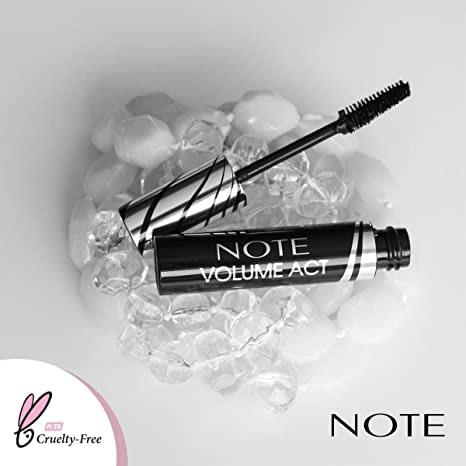 Note Cosmetics Volume Act mascara