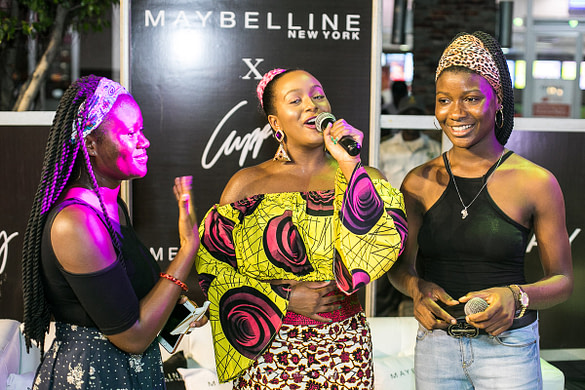 Maybelline DJ Cuppy Meet and Greet