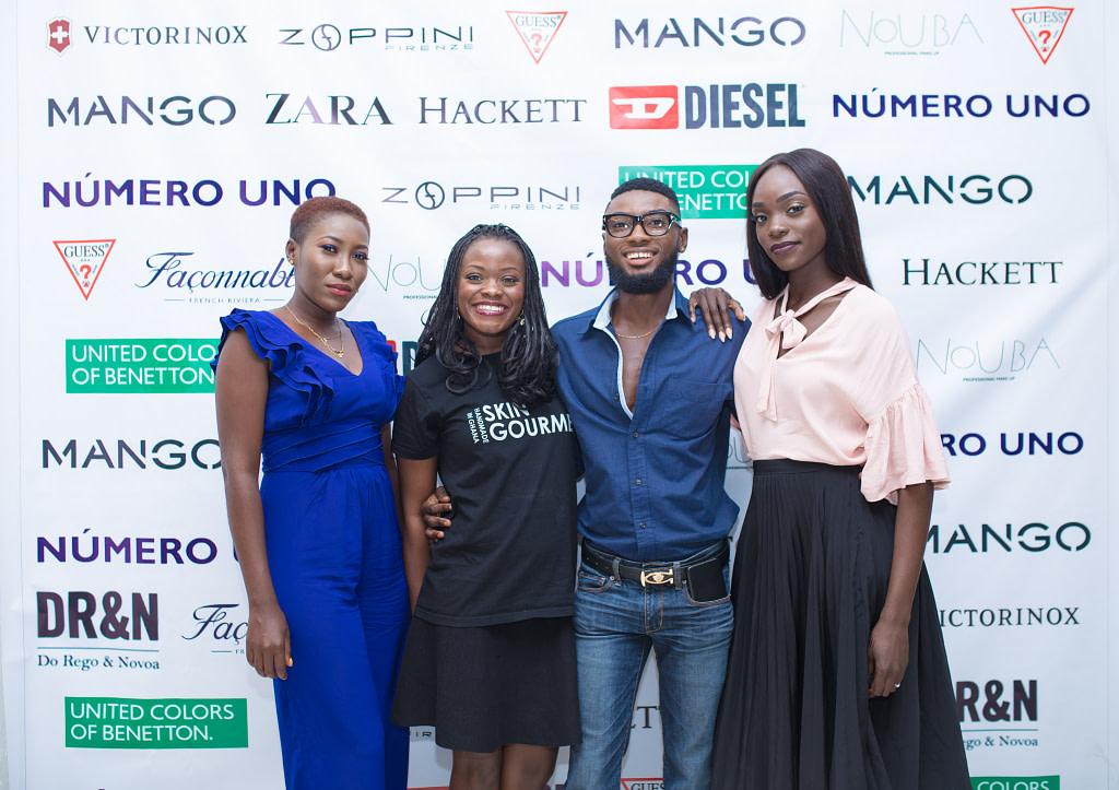 Ibukun Nartey, Violet Amo Amoabeng, Asare Prince Owusu and Stephanie Adu at Numero Uno Style Talks