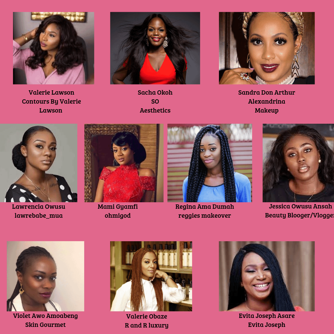 10 Ghanaian Beauty Practitioners and Brands Honoured at the Xperience Womanity Awards
