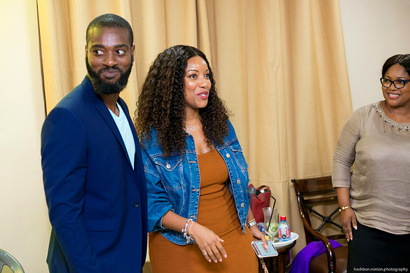 Joselyn Dumas at Forever-Clair East Legon Launch Party IbukunNartey.com
